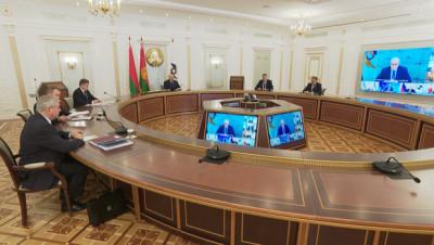Лукашенко принял участие в заседании Высшего Евразийского экономического совета