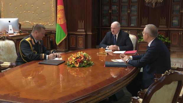 Лукашенко назначил экс-замминистра внутренних дел министром юстиции