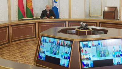"""Лукашенко о создании СНГ: в критической ситуации создание интеграционного """"купола"""" было верным решением"""
