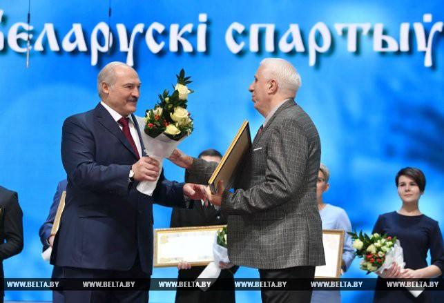 Александр Лукашенко и Владимир Новицкий