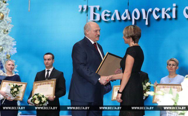 Александр Лукашенко и Ольга Власова