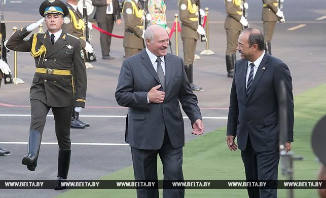 Александр Лукашенко и Абдулла Арипов