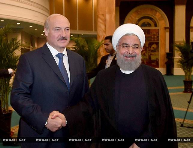 Александр Лукашенко и Хасан Роухани