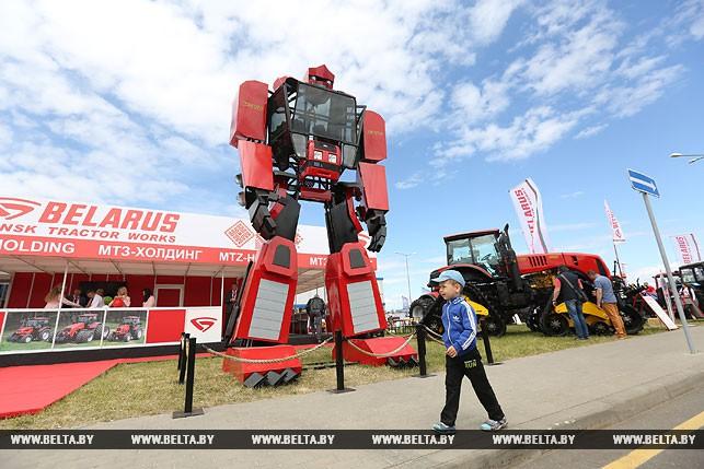 Трактор-трансформер МТЗ