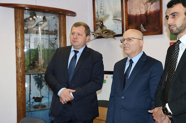 Борисовский лесхоз посетила делегация из Грузии 2