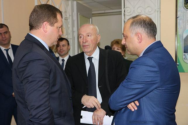 Борисовский лесхоз посетила делегация из Грузии 1