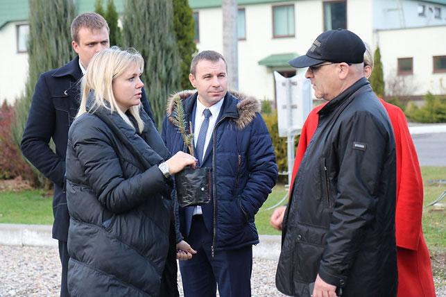 Борисовский лесхоз посетила делегация из Грузии 5
