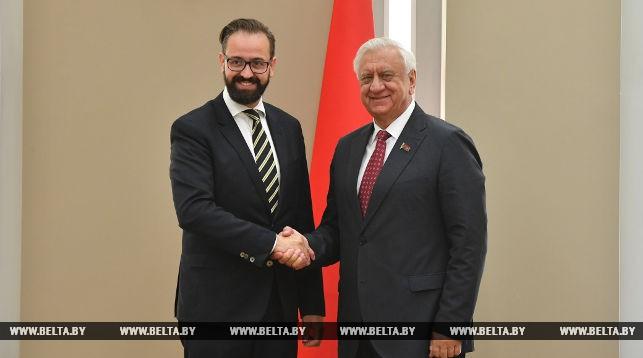 Себастиан Гемков и Михаил Мясникович