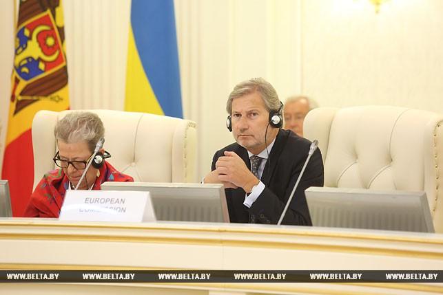 Еврокомиссар по европейской политике соседства и переговорам о расширении ЕС Йоханнес Хан