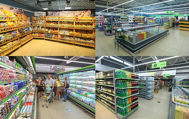 31340e59fd68 Просторная площадь супермаркета позволила уже в момент открытия предложить  посетителям более 12,5 тысяч товарных