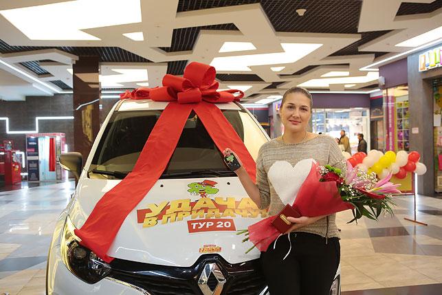 Фото победителей с подарками