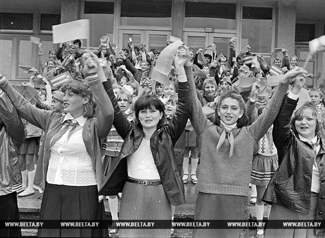 """Фестиваль дружбы молодежи СССР и Кубы в пионерлагере """"Зеленый бор"""". 1983 год"""