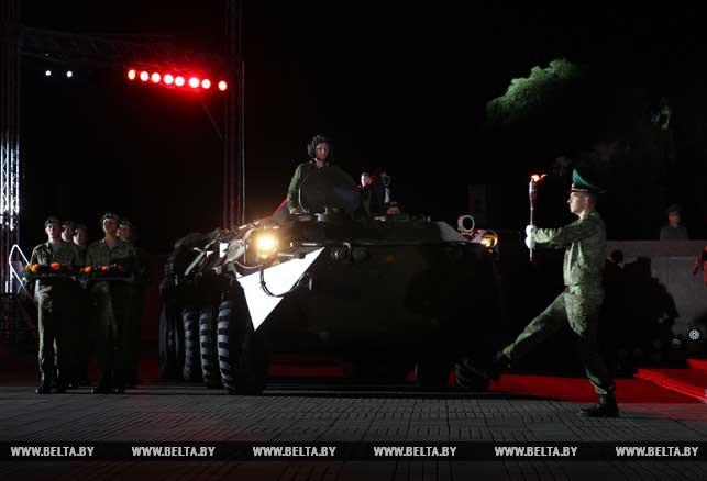 В Брестской крепости прошел митинг-реквием, посвященный Дню всенародной памяти жертв Великой Отечественной войны