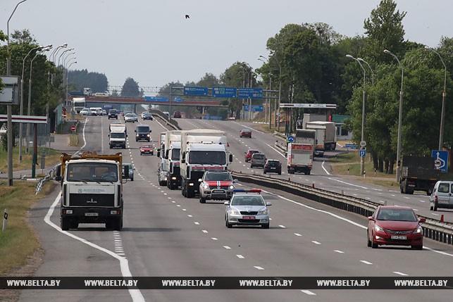 Беларусь отправила гумпомощь Украине