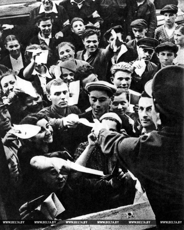 Великая Отечественная война. Заявления с просьбой отправить на фронт. 1941 год
