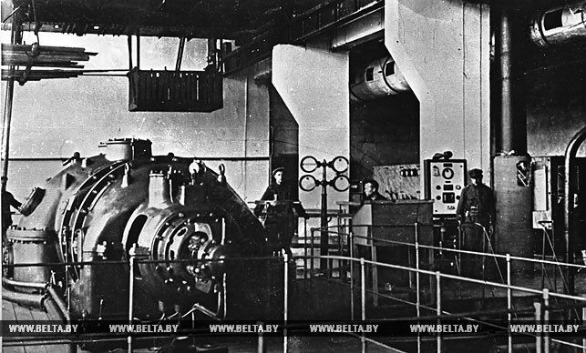 Ударная комсомольская стройка - Белорусская ГРЭС имени В.И.Ленина. Фото 1930-х годов