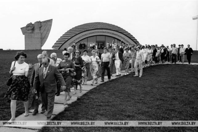 Мемориальный комплекс советско-польского содружества - Ленино, 1986 г.