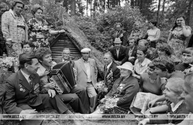 Партизанская бригада им. Фрунзе, 1981 г.