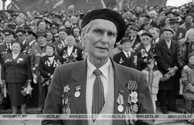 Защитник Брестской крепости Сергей Бобренок, 1995 г.