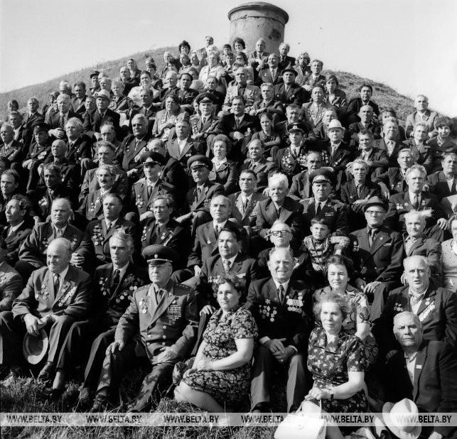 Встреча ветеранов 4-ой армии в Брестской крепости-герое, 1976 г.