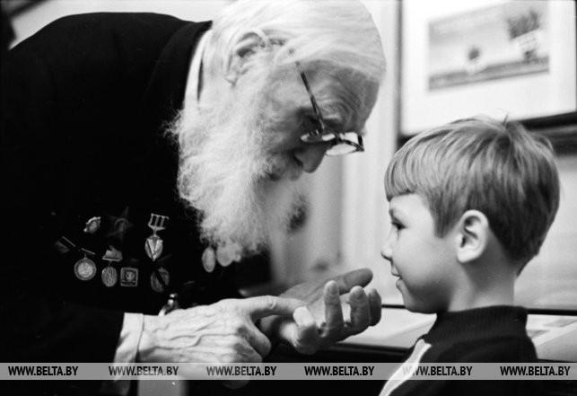 Встреча с ветераном, 1977 г.
