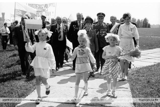 Встреча советских и польских ветеранов, 1986 г.
