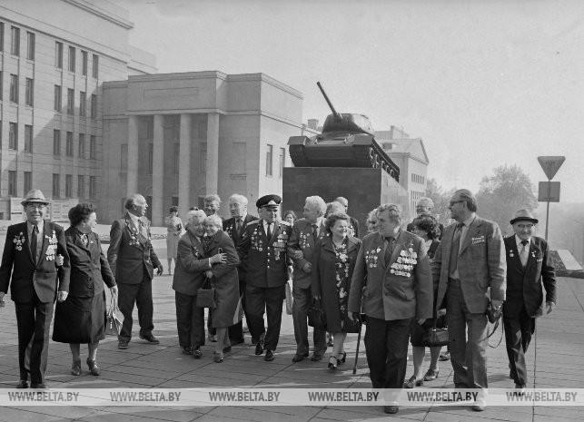 Встреча ветеранов 352-й стрелковой Оршанской Краснознаменной ордена Суворова дивизии, 1984 г.