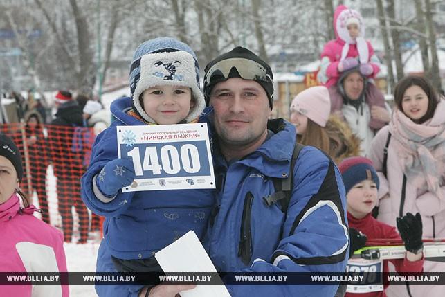 Дмитрий Хохряков с сыном