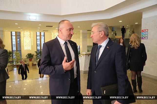 Александр Конюк и Валерий Малашко
