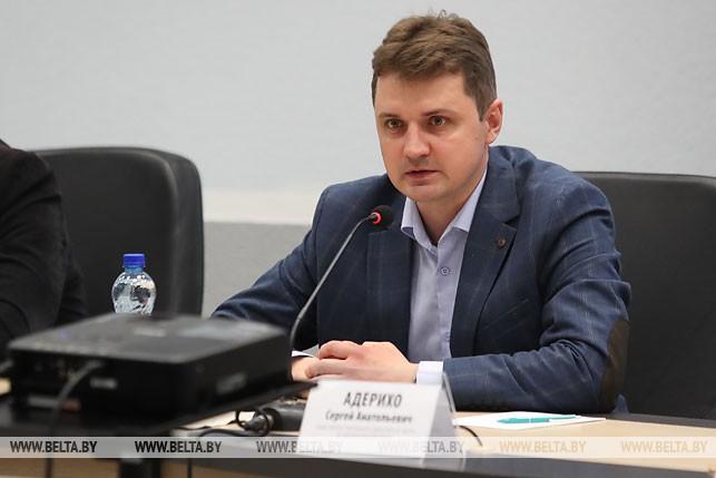 Заместитель генерального директора БЕЛТА Сергей Адерихо