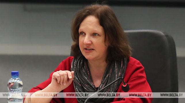 Заместитель директора по научной работе Белорусского государственного музея истории Великой Отечественной войны Анна Галинская