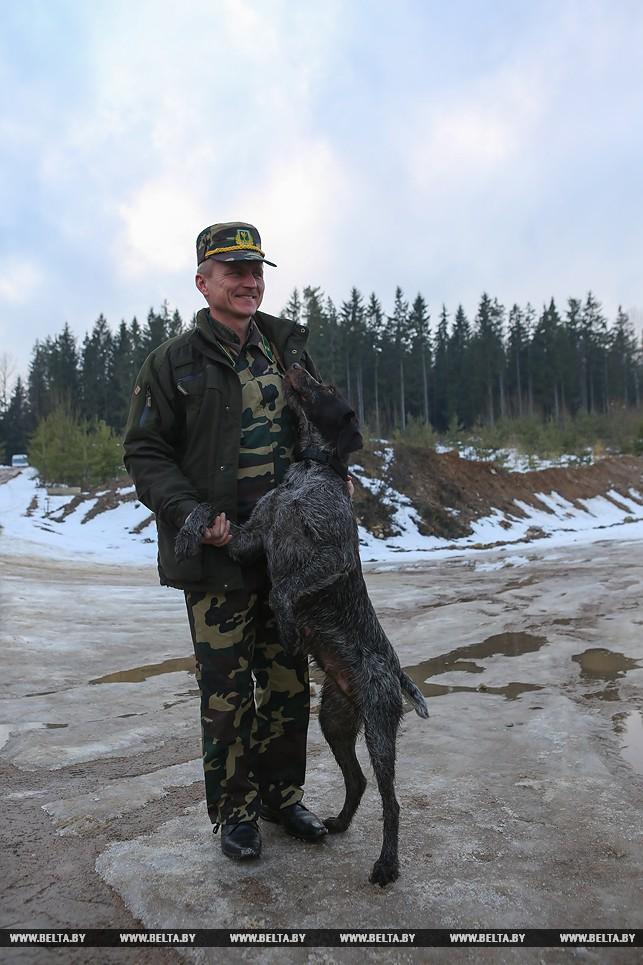 вступление в общество охотников и рыболовов