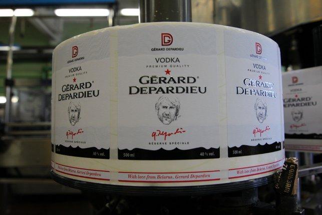 """Премиальный крепкий напиток Gerard Depardieu (""""Жерар Депардье"""") уже поставляется в торговую сеть Auchan (""""Ашан"""") в Российской Федерации, а так же достигнуты договоренности о выводе этого продукта на рынки Франции и Канады"""