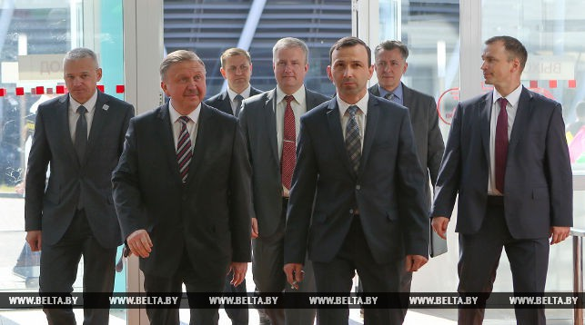Премьер-министр Республики Беларусь посетил площадку WorldSkills Belarus-2018