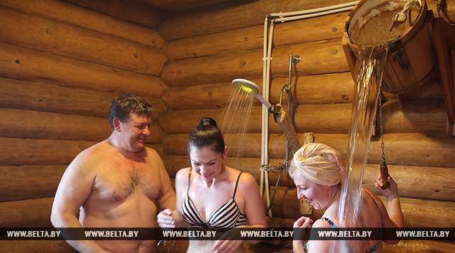 Во время чемпионата в бане