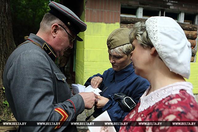 реконструкция 22 июня 1941 года, Брестская крепость, Великая Отечественная война, Брест, 22 июня 2017 года, оборона