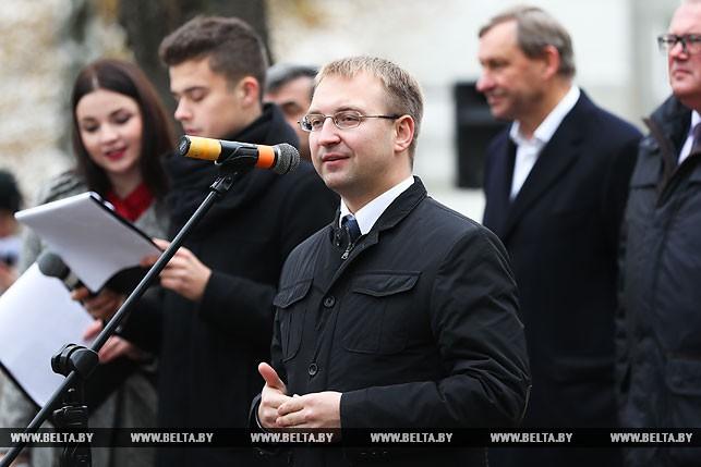 Первый секретарь Минского городского комитета БРСМ Сергей Клишевич