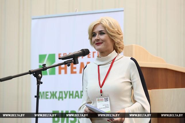 Заместитель председателя Гродненского облисполкома Елена Бубенчик