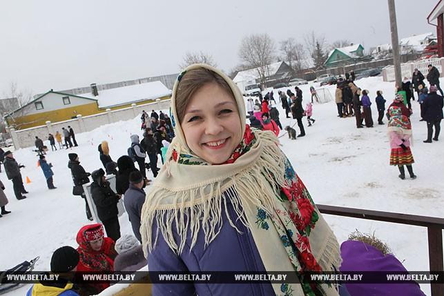 Руководитель фольклорного коллектива музыкальной школы Татьяна Рыбинская