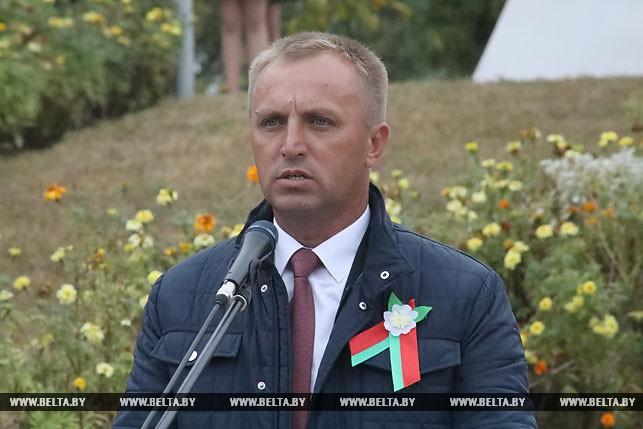 Председатель Брагинского райисполкома Александр Кохан