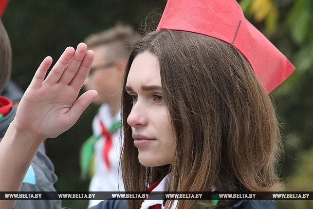 Участница празднования Алина Злобенко