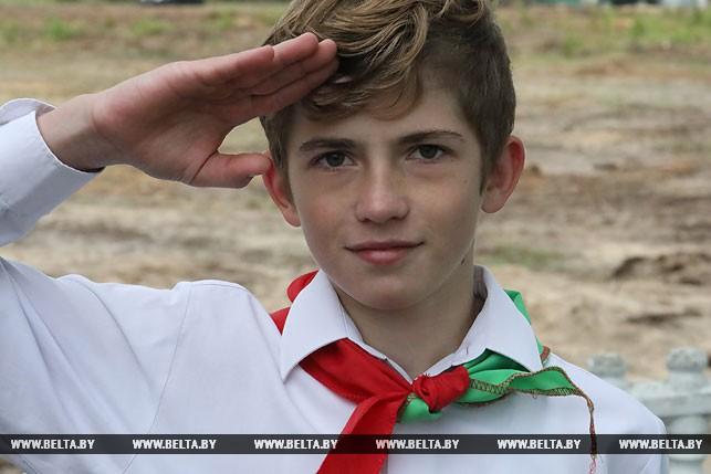 Участник празднования Антон Романенко
