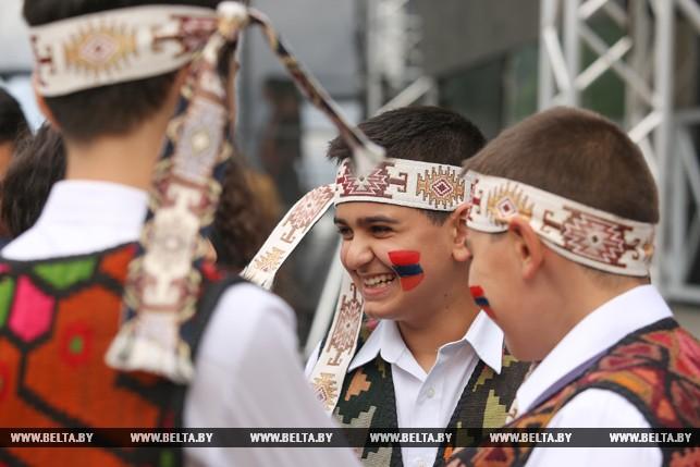 В Минске провели Фестиваль армянской культуры