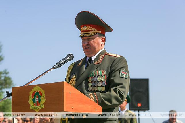 Первый заместитель председателя Государственного пограничного комитета генерал-майор Игорь Буткевич