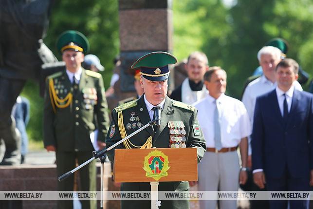 Начальник Брестской Краснознаменной пограничной группы имени Ф.Э.Дзержинского полковник Игорь Гутник