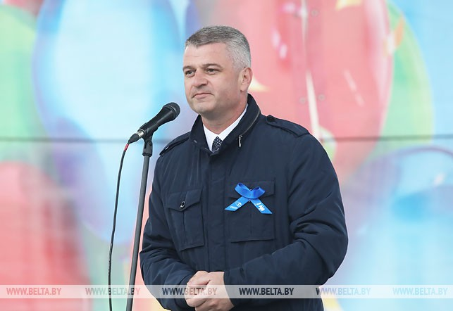 Председатель Гомельского областного объединения профсоюзов Алексей Неверов