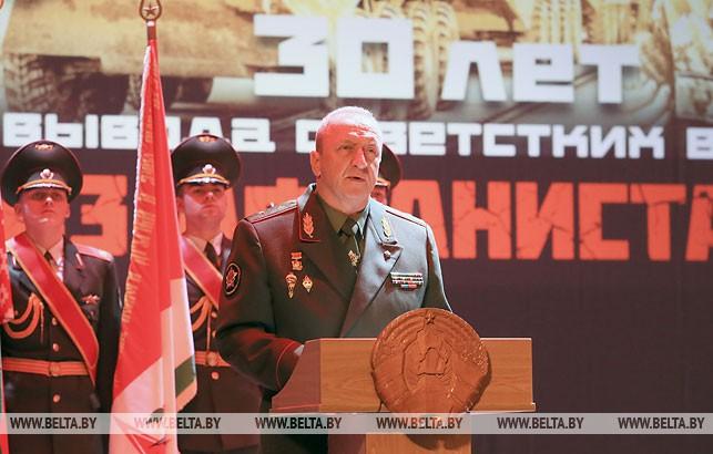 Начальник Генерального штаба Вооруженных Сил - первый заместитель министра обороны Беларуси Олег Белоконев