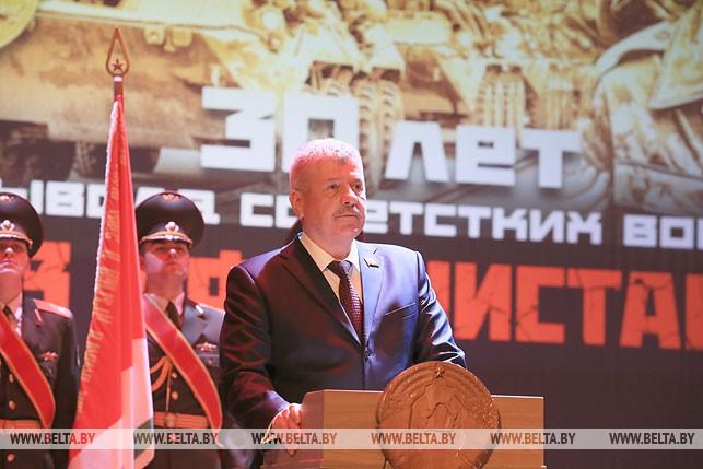 Председатель Белорусского союза ветеранов войны в Афганистане Валерий Гайдукевич