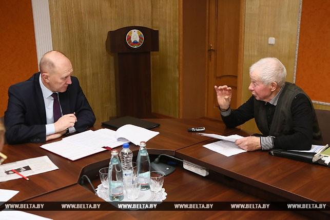 Владимир Кравцов и Генрих Цилиндь