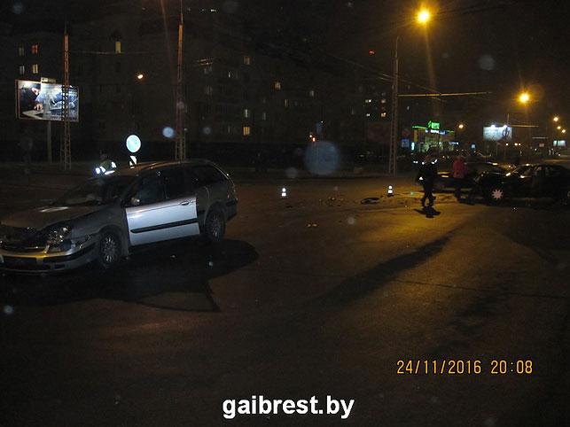 ВДТП шофёр сломал позвоночник— Брест